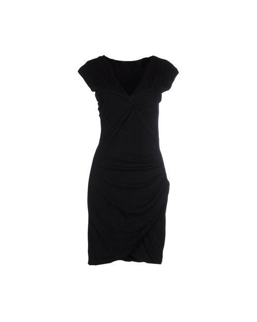 Love Moschino   Женское Чёрное Короткое Платье