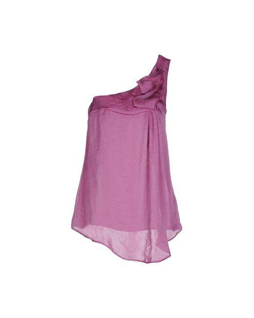 Liu •Jo Jeans | Женский Розовато-Лиловый Топ Без Рукавов