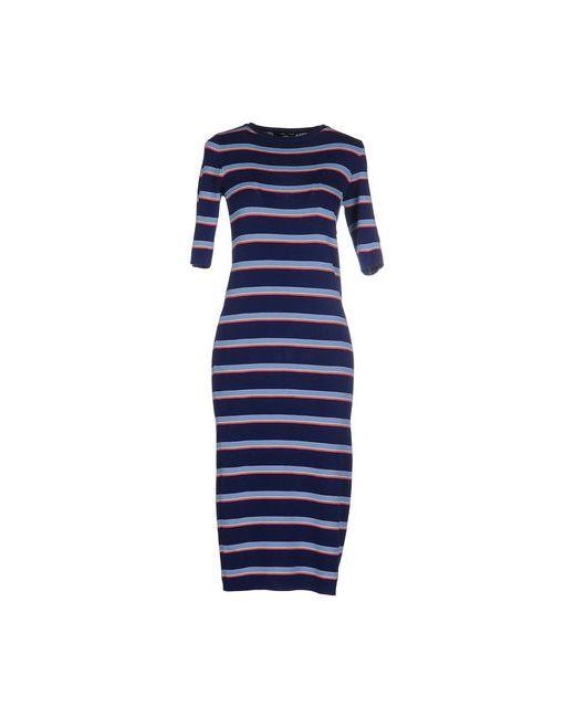 .Tessa | Женское Синее Платье До Колена