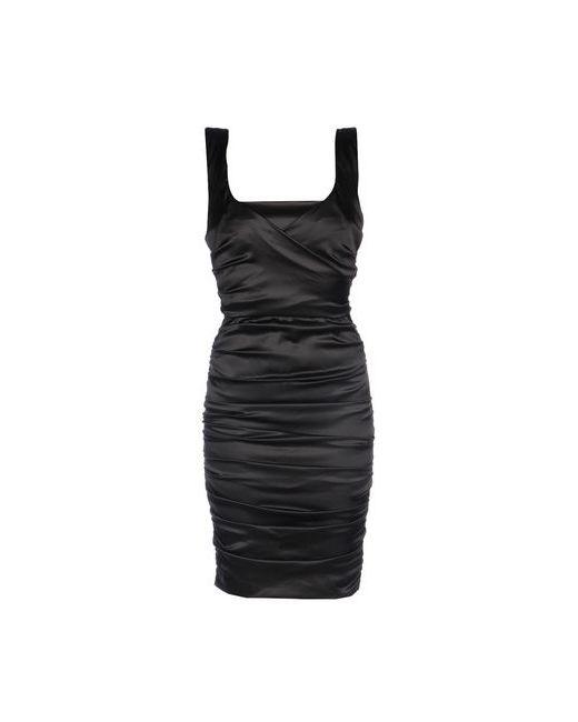 ELISABETTA FRANCHI   Женское Чёрное Платье До Колена