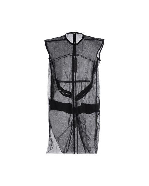 Rick Owens | Женское Чёрное Короткое Платье
