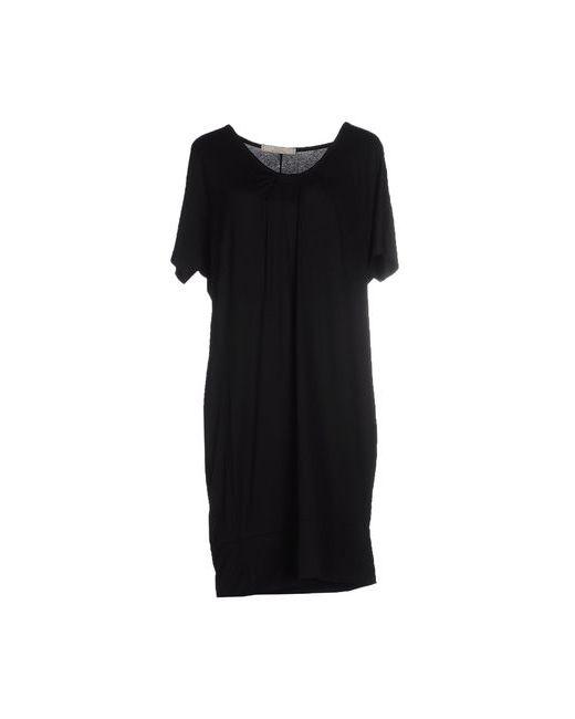 1980 | Женское Чёрное Короткое Платье