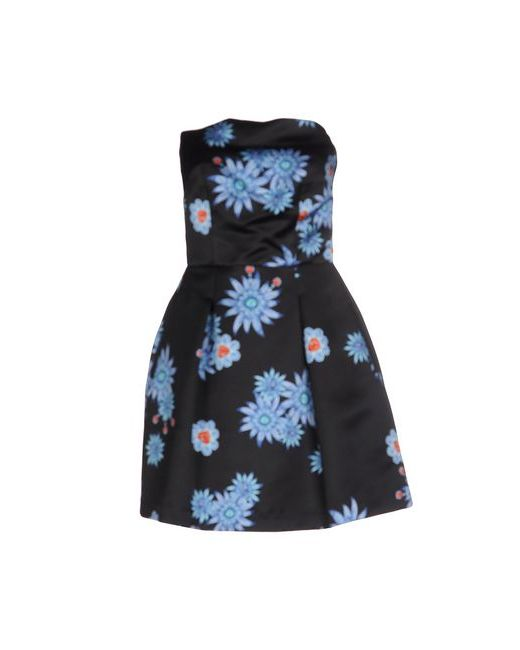 ATOS LOMBARDINI   Женское Чёрное Короткое Платье