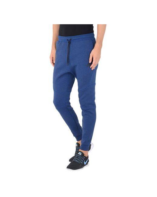 Nike   Женские Синие Повседневные Брюки