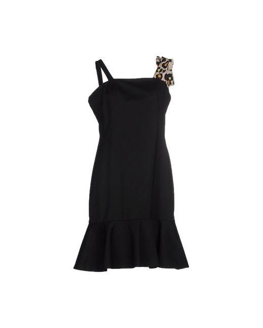 Annie P. | Женское Чёрное Короткое Платье