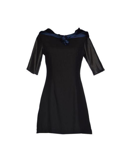 Uniform Union By Loyandford | Женское Чёрное Короткое Платье
