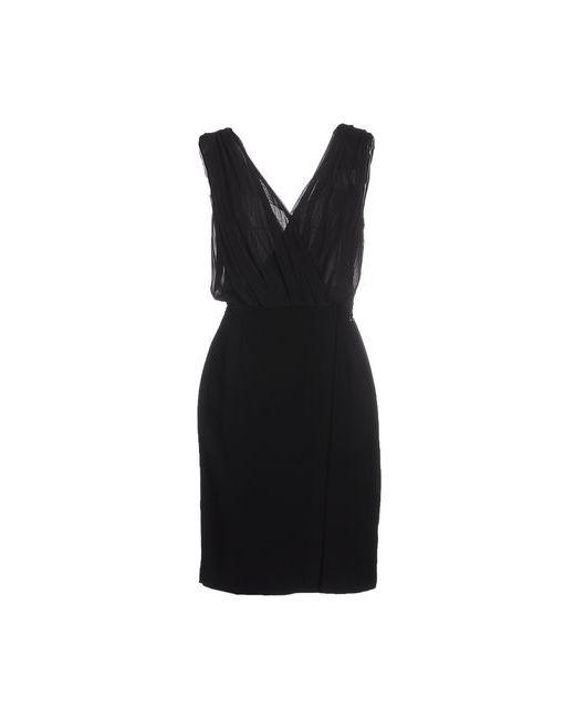 Passepartout Dress By Elisabetta Franchi Celyn B. | Женское Чёрное Платье До Колена