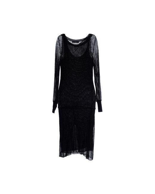 Compagnia Italiana | Женское Чёрное Платье Длиной 3/4