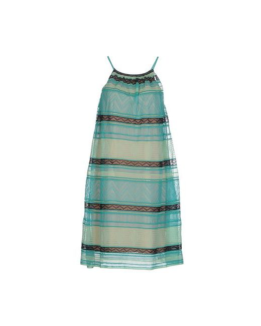 Missoni   Женское Зелёное Короткое Платье