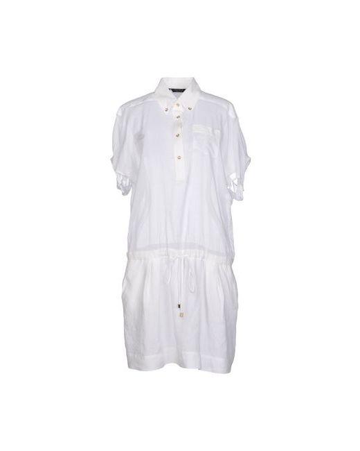 Nuvola | Женское Белое Короткое Платье