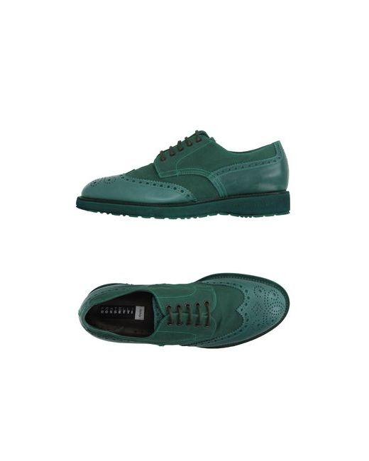 Fratelli Rossetti | Мужская Зелёная Обувь На Шнурках