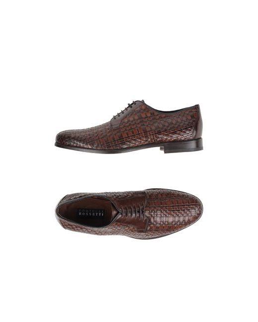 Fratelli Rossetti | Мужская Какао Обувь На Шнурках