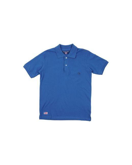 Cotton Belt   Мужское Синее Поло