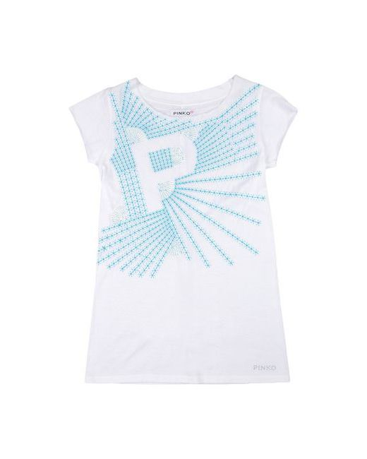 Pinko Up | Женская Белая Футболка