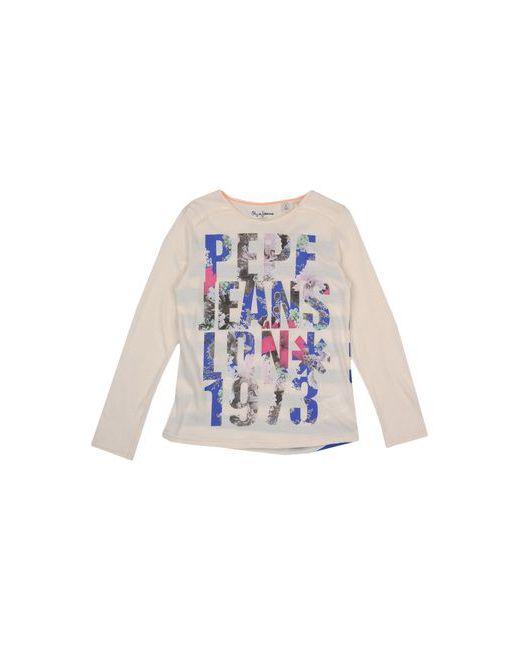 Pepe Jeans London | Женская Слоновая Кость Футболка