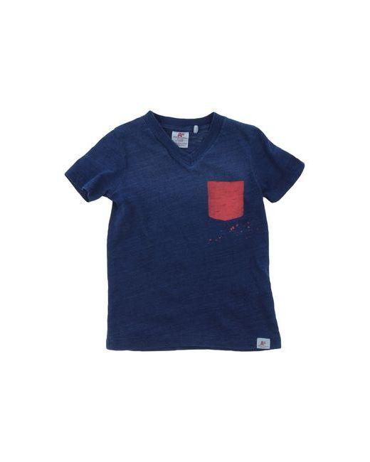 American Outfitters | Мужская Синяя Футболка