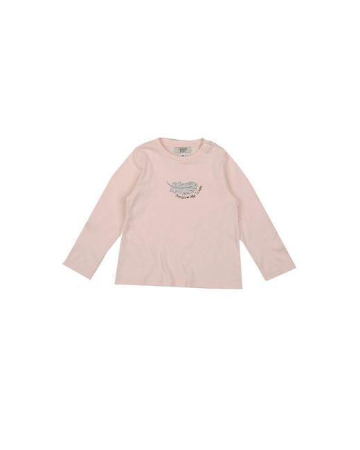 Armani Baby | Женская Розовая Футболка