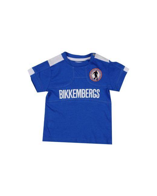 Bikkembergs   Мужская Синяя Футболка