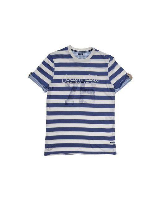 Cotton Belt | Мужская Синяя Футболка