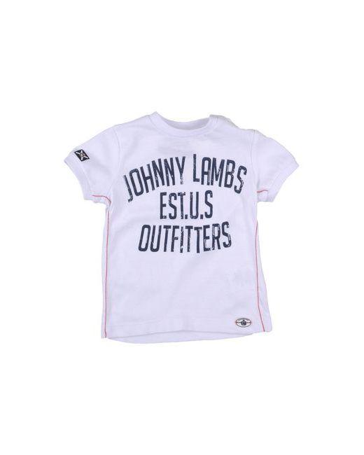Johnny Lambs | Мужская Белая Футболка