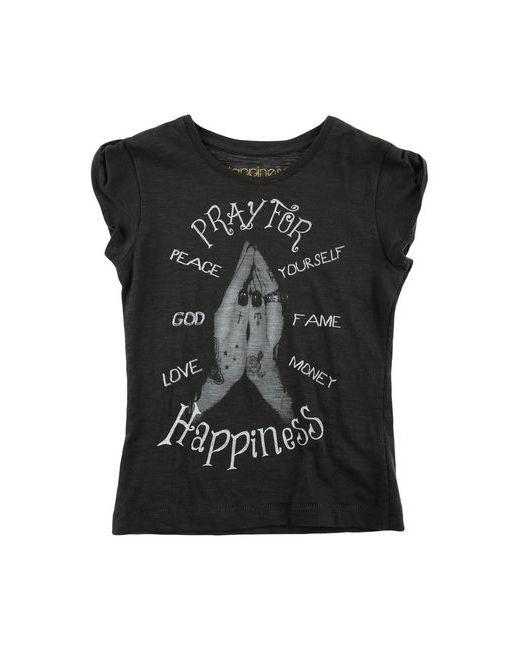 Happiness | Женская Серая Футболка