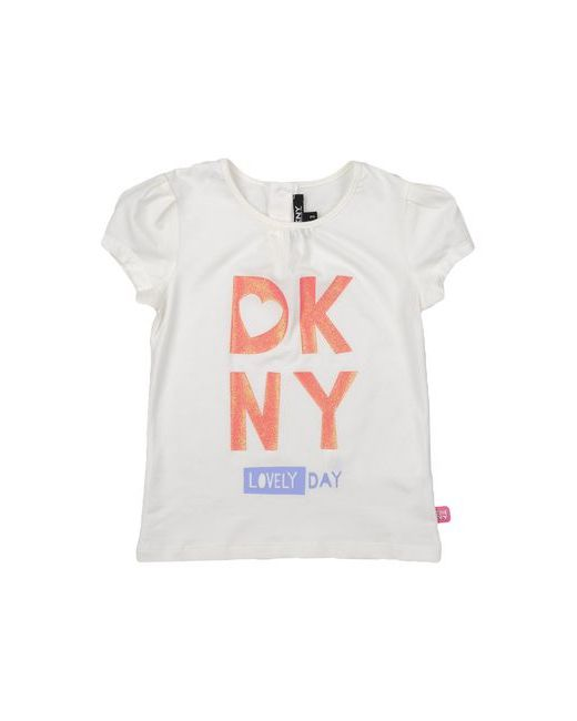 DKNY | Женская Слоновая Кость Футболка