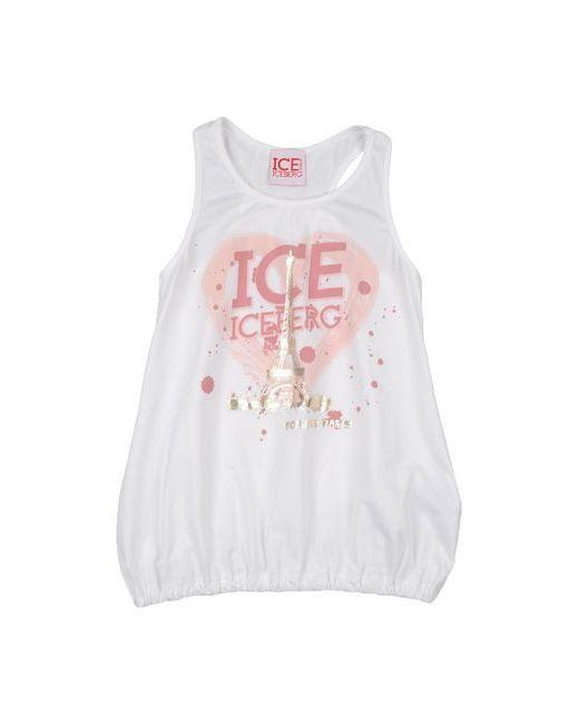 Ice Iceberg Junior | Женская Белая Футболка