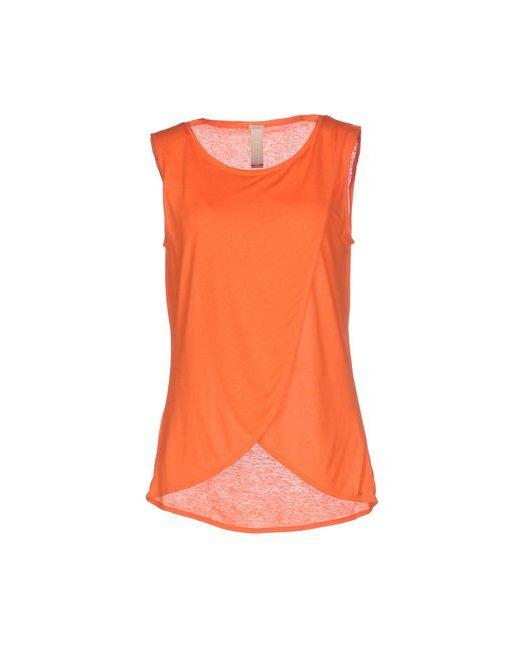 PINKO TAG | Женская Оранжевая Футболка