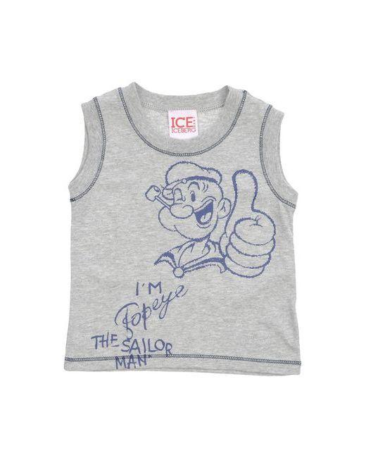 ICE ICEBERG BABY | Мужская Серая Футболка