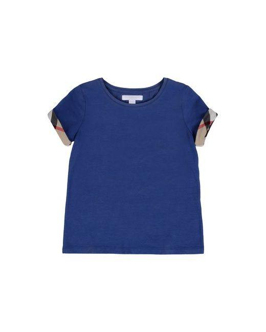 Burberry | Женская Синяя Футболка