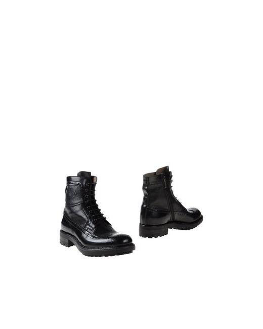 Corvari | Мужские Чёрные Полусапоги И Высокие Ботинки