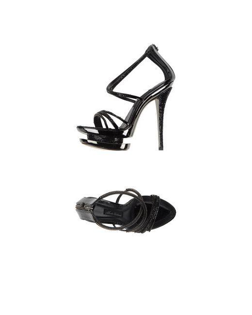 Alberto Venturini | Женские Чёрные Сандалии