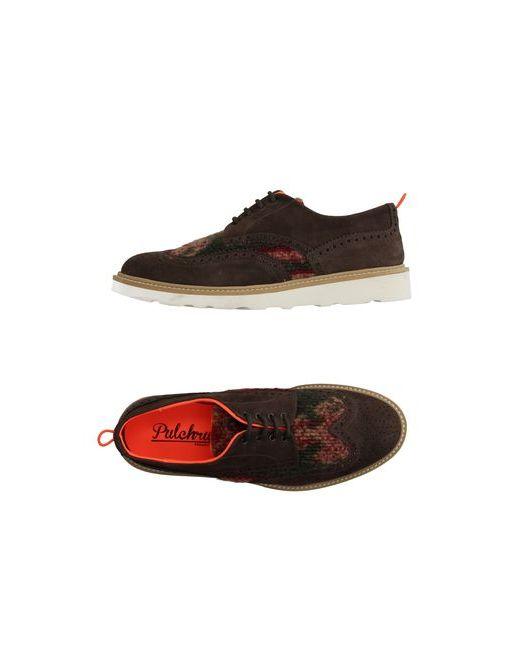 PULCHRUM | Мужская Какао Обувь На Шнурках