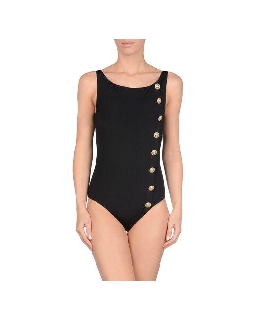 Mileti Swimwear | Женский Чёрный Слитный Купальник
