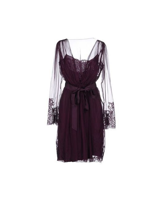 Alberta Ferretti | Женское Фиолетовое Платье До Колена