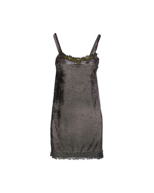 Le Ragazze Di St. Barth | Женское Зелёное Короткое Платье