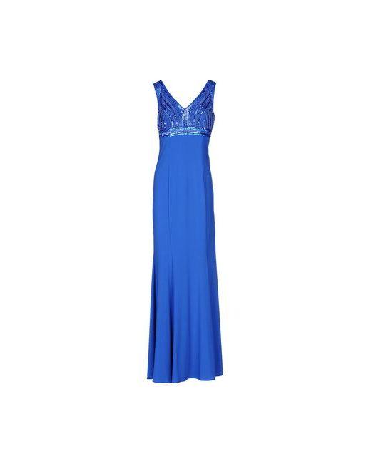Musani Couture | Женское Цвет Морской Волны Длинное Платье