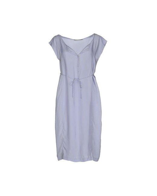 Humanoid | Женское Голубое Платье До Колена