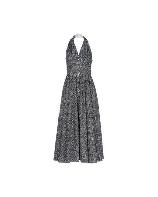 Michael Kors | Женское Чёрное Длинное Платье
