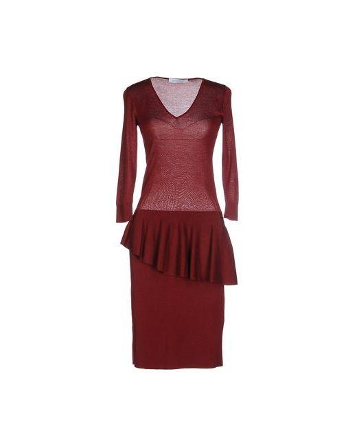 Viktor & Rolf | Женское Красное Платье До Колена