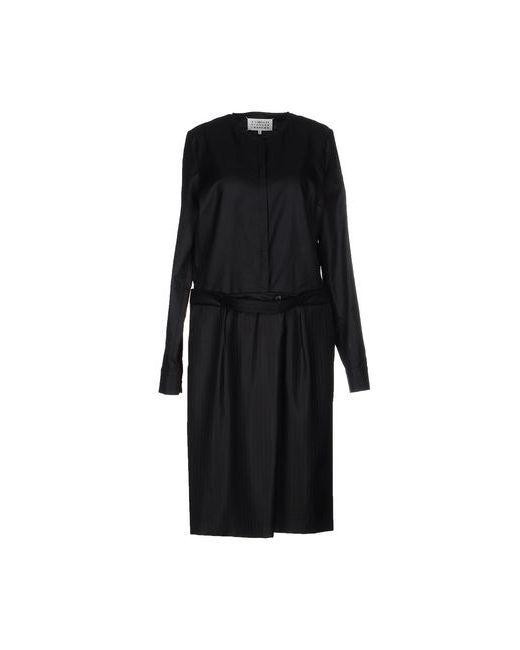Maison Margiela | Женское Чёрное Платье До Колена