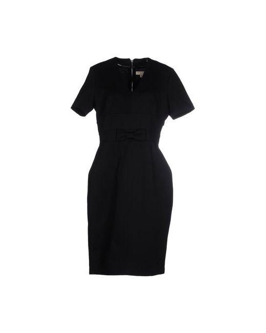 Burberry London | Женское Чёрное Платье До Колена