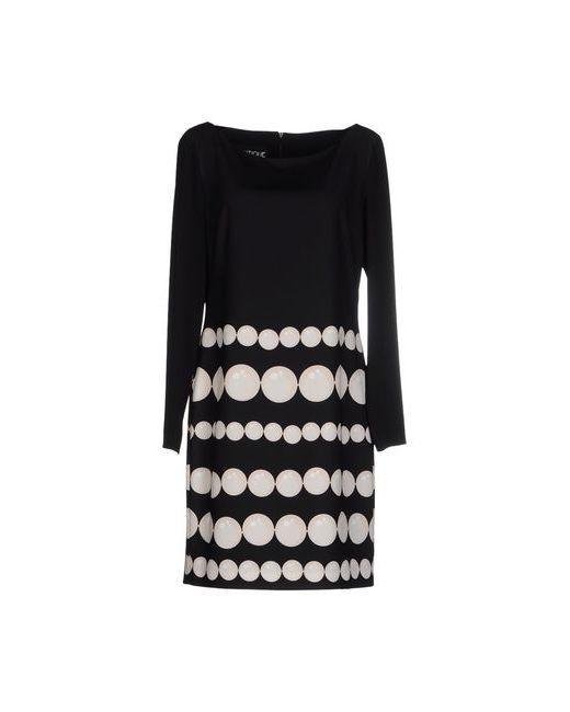 BOUTIQUE MOSCHINO | Женское Чёрное Короткое Платье