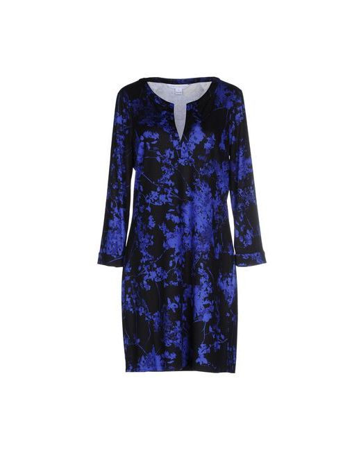 Diane Von Furstenberg   Женское Чёрное Короткое Платье