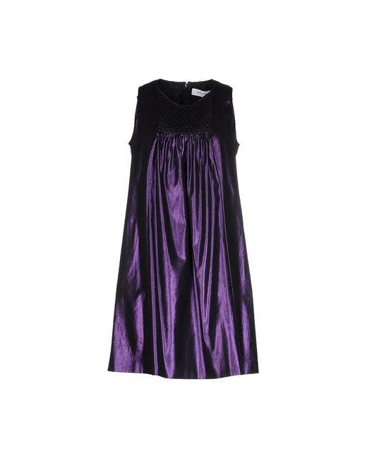 Mauro Grifoni   Женское Фиолетовое Короткое Платье