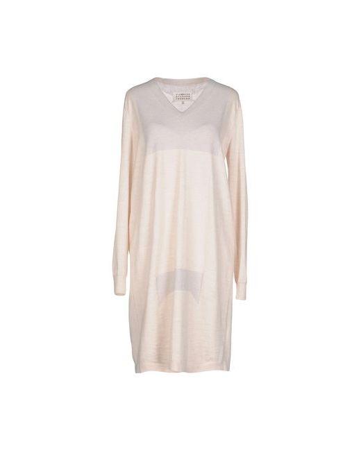Maison Margiela | Женское Бежевое Короткое Платье