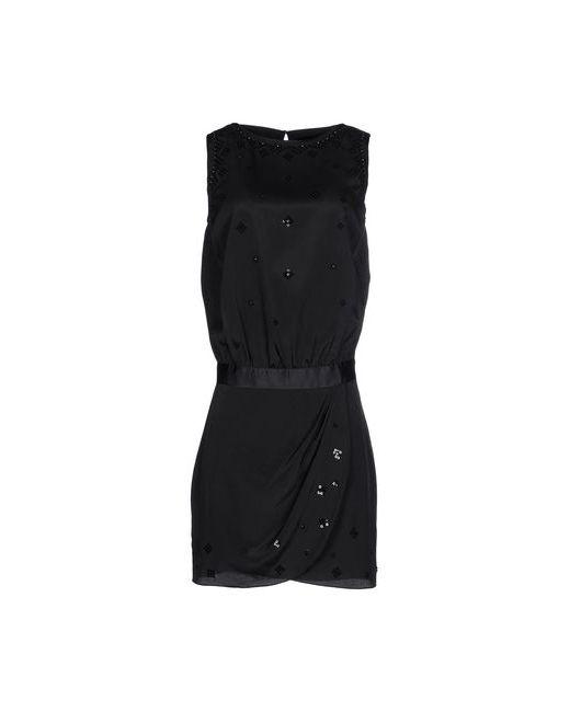 ARMANI JEANS | Женское Чёрное Короткое Платье