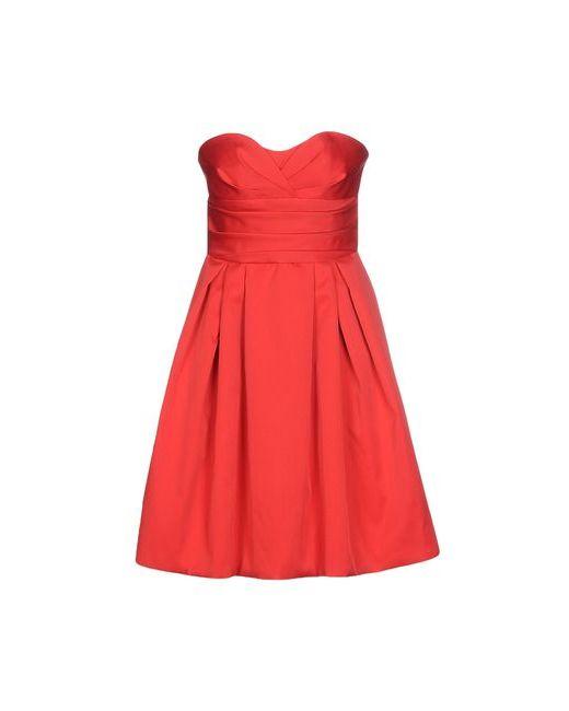 Armani Collezioni | Женское Красное Короткое Платье