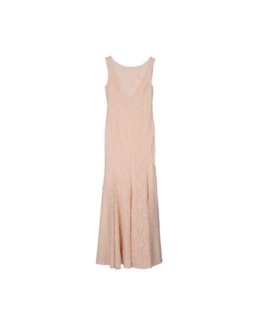 Diane Von Furstenberg | Женское Розовое Длинное Платье