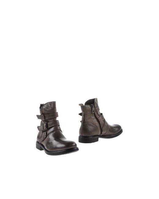Nila&Nila | Мужские Серые Полусапоги И Высокие Ботинки